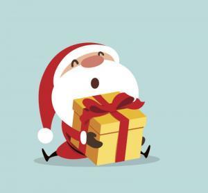 Weihnachtsmänner - Fingerspiel