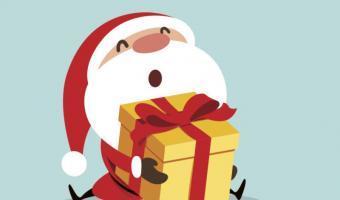 """5 klitzekleine Weihnachtsmänner  <br /><span class=""""second""""> Fingerspiel zu Weihnachten</span>"""