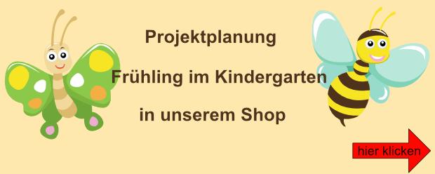 Banner Frühling