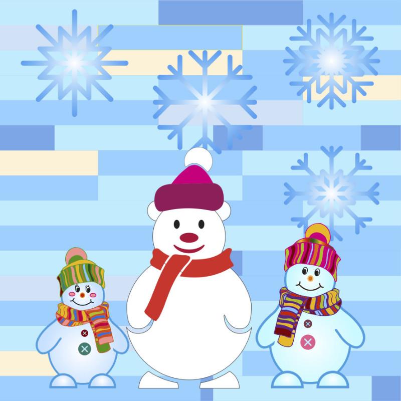 Fünf Brüder im Schnee  Fingerspiel für den Winter