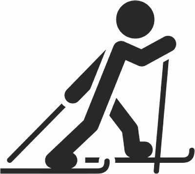 """Skilanglauf im Kindergarten  <br /><span class=""""second""""> Spiel mit Alltagsmaterial</span>"""