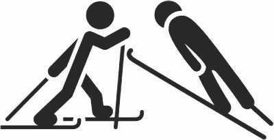 Winterspiele - Nordische Kombination Bewegungsspaß mit Alltagsmaterialien