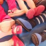 """Fußsalat  <br /><span class=""""second""""> Fußspiel zur Körperwahrnehmung</span>"""