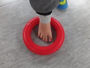 Spiel mit dem Fuß