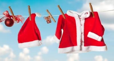 """Die Wäsche vom Weihnachtsmann auf der Leine  <br /><span class=""""second""""> Wäscheklammer Weihnachtsspiel</span>"""