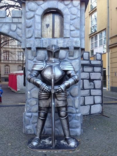 Fingerspiel Ritter
