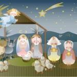 """Stille Nacht, heilige Nacht  <br /><span class=""""second""""> Kinderlied</span>"""