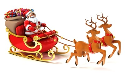 Weihnachtsbilder aufhängen und sortieren