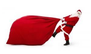Weihnachtsgeschenke Auslieferung