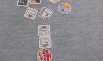 Bierdeckel Spiele: Bierdeckel- Rettungsreifen</span>