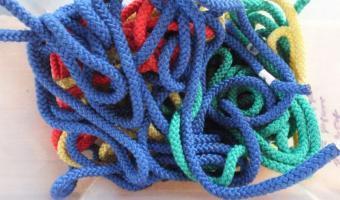 Bewegung mit Seilen