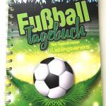 Buchtipp für kleine und große Fans: Fußball Tagebuch</span>