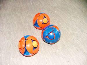 Turnen mit dem Ball