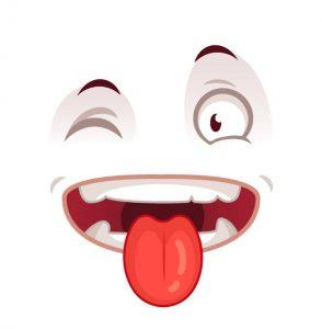Kreisspiel für Gruppen - Auge - Nase - Zunge
