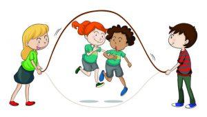 Seilspringen für Kinder